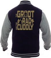 GROOT RAD CUDDLY VARSITY - INSPIRED BY GUARDIANS OF THE GALAXY